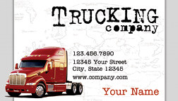 Trucking business card white business cards wedding flickr trucking business card white by printfirm colourmoves