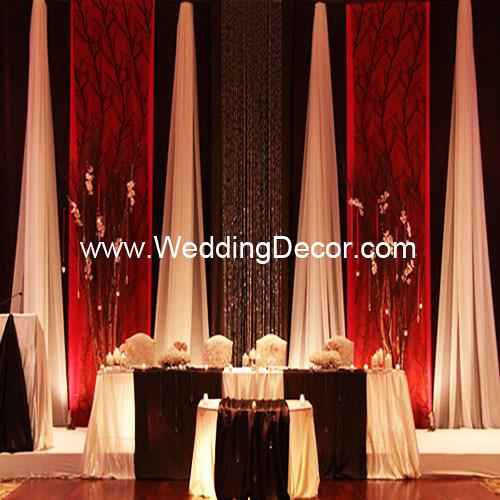 Wedding Backdrop Fuchsia Brown Ivory A Fuchsia Brown Flickr