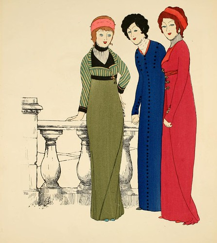 Les Robes de Paul Poiret, 1908. | by Double--M