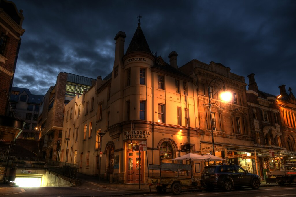 Resultado de imaxes para The Russell Hotel - Sydney, Australia