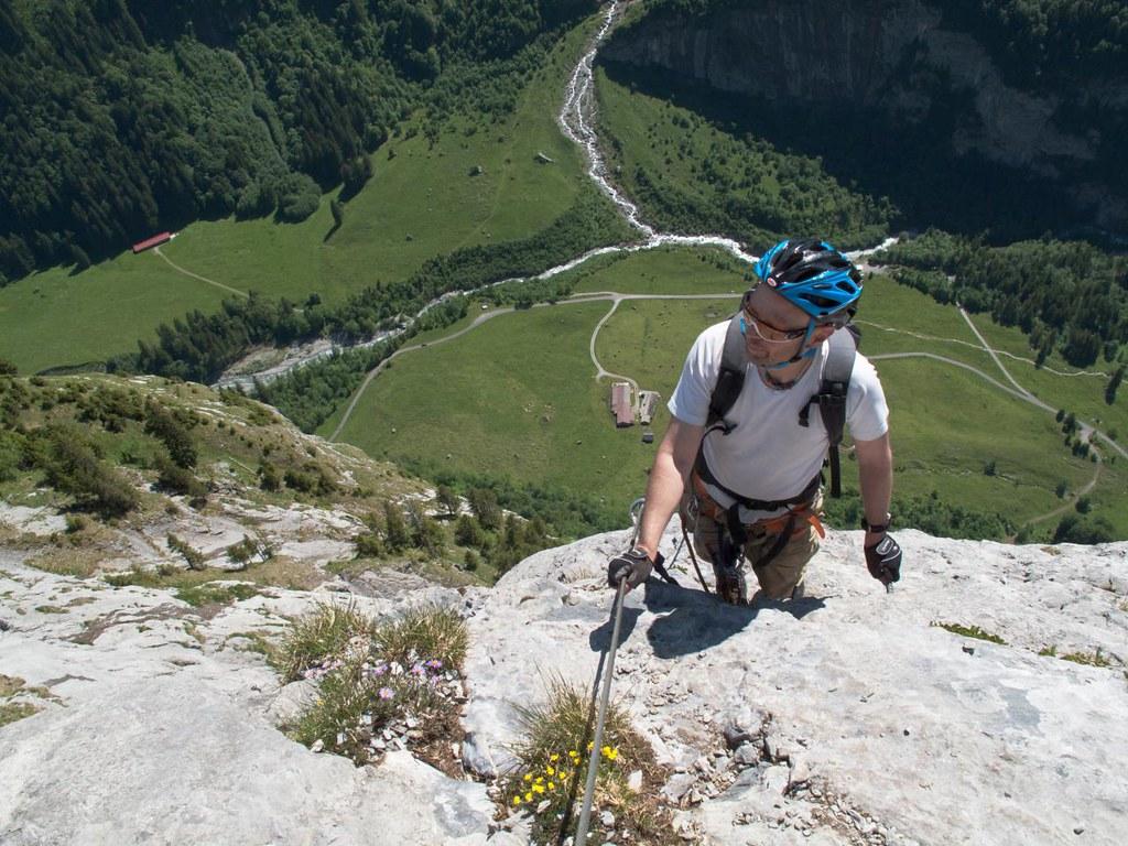 Klettersteig Fürenwand : Klettersteig fürenwand engelberg monte pelmo flickr