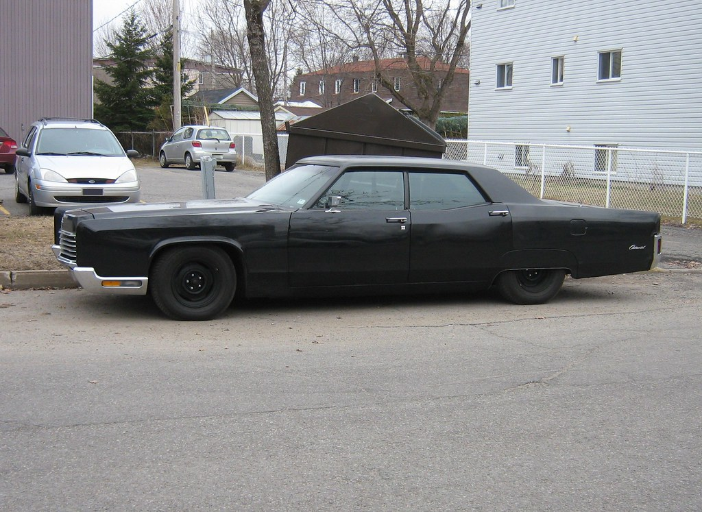 Gangster Styled Car Murdered Out 1970 Lincoln Continenta Flickr