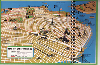 Map of San Francisco | by Calsidyrose