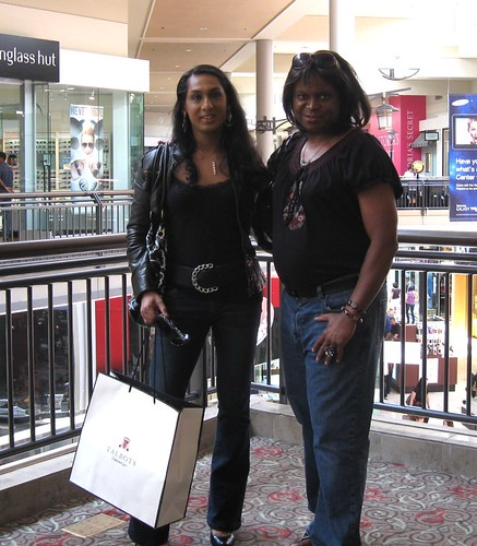Jenny and me.. hanging in the mall | by Natassia Crystal