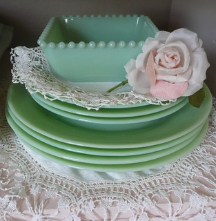 Jadite dishes | by seaside rose garden