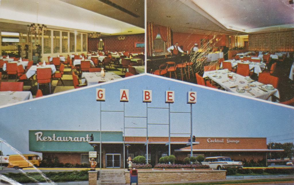 Gabes Restaurant Postcard Owensboro Ky I Grew Up In Owe Flickr