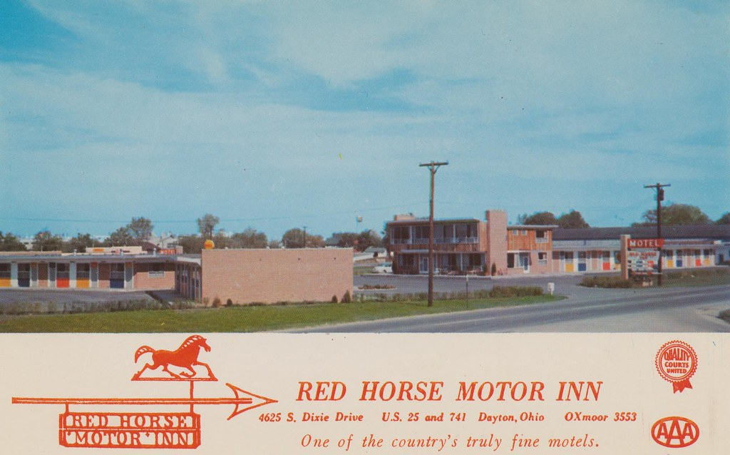 Red Horse Motor Inn - Dayton, Ohio