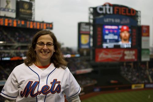 Me at Citi Field 2011 | by Julie Rubes