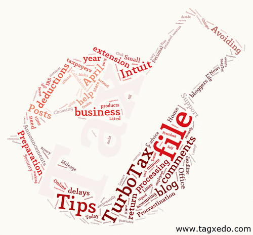 turbotax wordcloud | by Images_of_Money