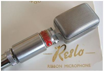 Reslo RB Ribbon Microphone | by Reslosound