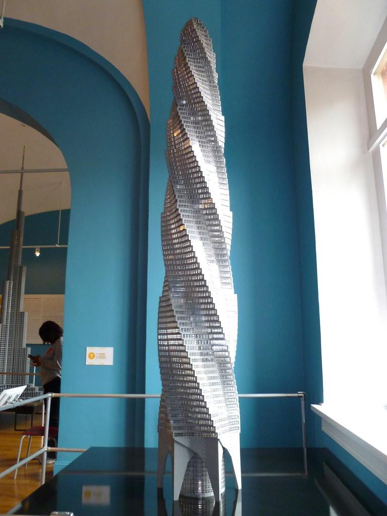 Chicago Spire Lego Architecture Exhibit National Building Museum Washington DC