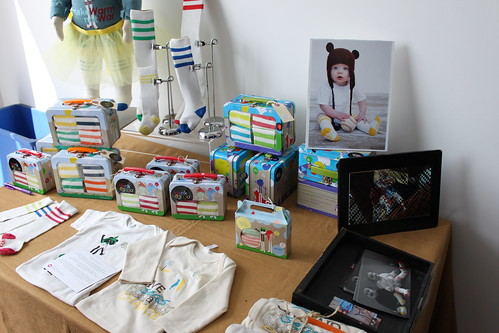 Hank & Jojo tube socks at Brooklyn Baby Expo | by jen_rab