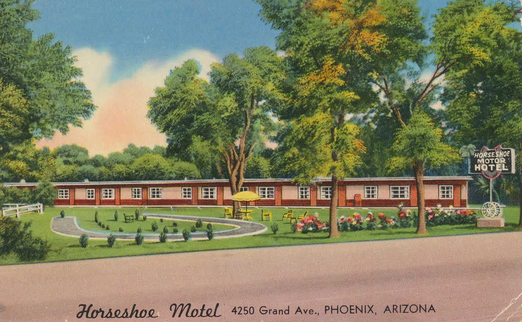 Horseshoe Motel - Phoenix, Arizona