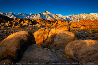 Here comes the Sun! Alabama Hills. | by Douglas Remington - Ethereal Light® Photography