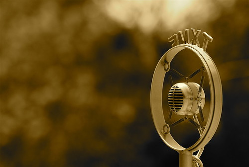 Old fashioned microphone | by joshuaseye
