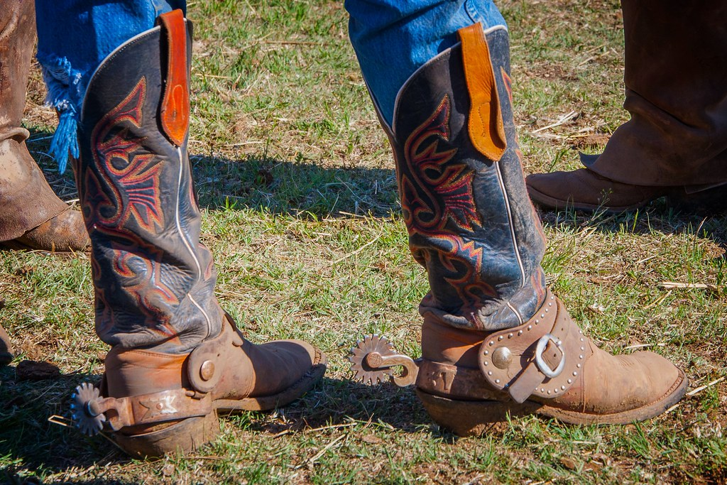 Cowboy Boots | A working man&39s cowboy boots - re-edited in L… | Flickr