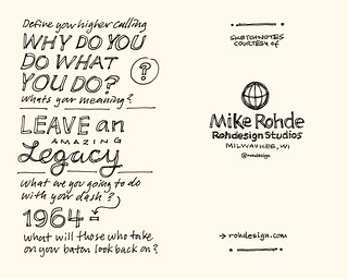 Chick-Fil-A Leadercast Sketchnotes 35-36 - Dave Ramsey | by Mike Rohde