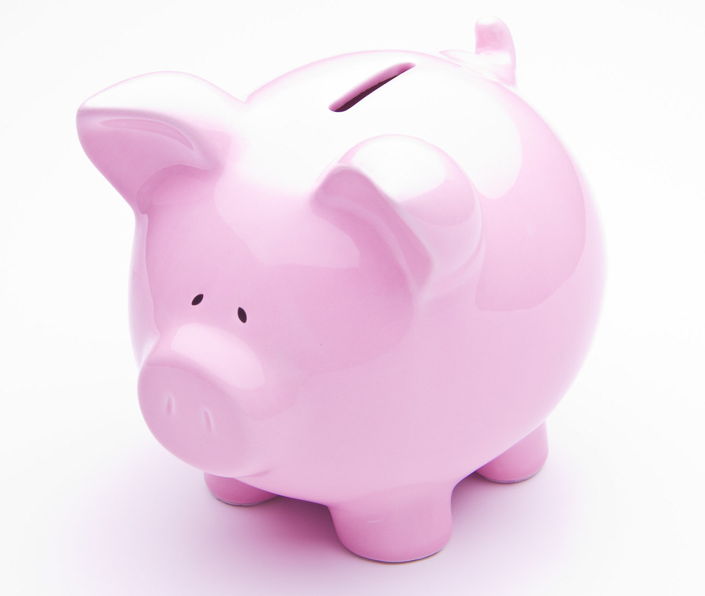 Saving can be fun with the Nickel-Plated Piggy Bank. Start the little one out on the right path with this adorable bank that can be personalized with a name, initials or a message up to 9 characters. A perfect gift for a birth or christening.