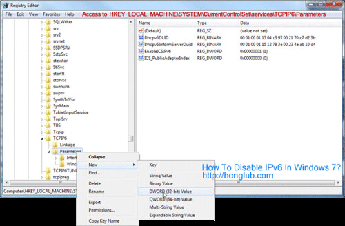 how to disable hkey local machine