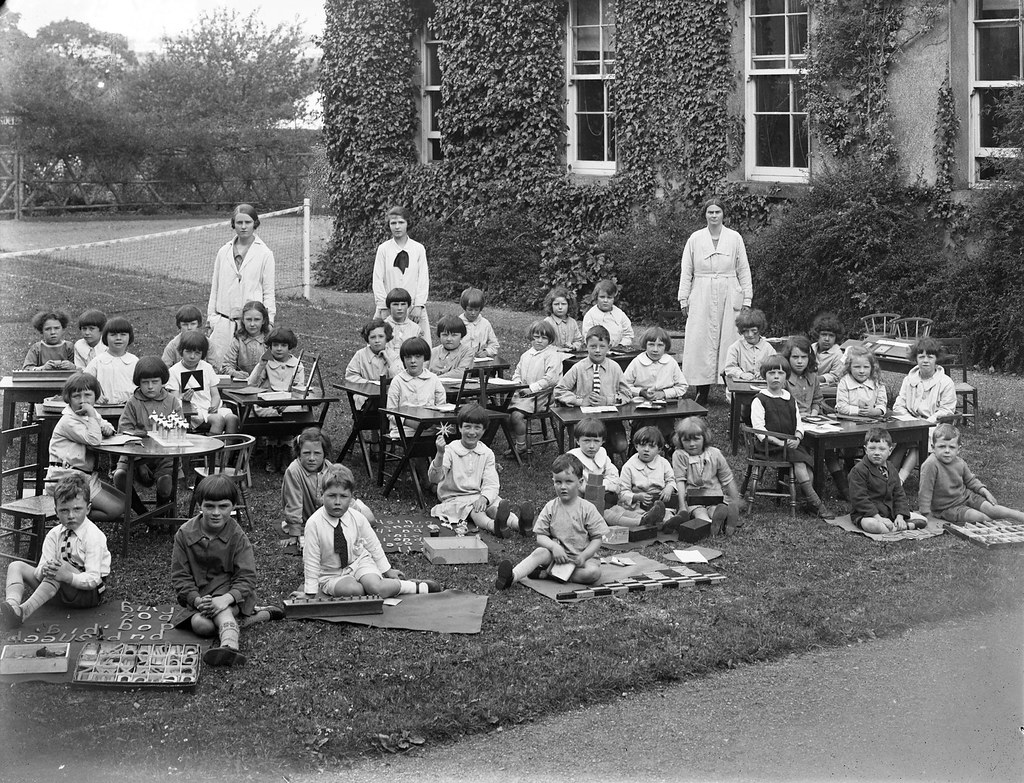 St. Anne's Kindergarten Class | by National Library of Ireland on The Commons