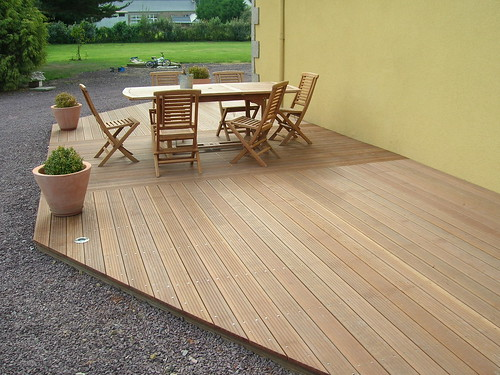 terrasse en bois exotique ip rennes bois flickr. Black Bedroom Furniture Sets. Home Design Ideas