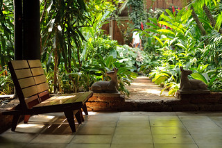 Jim Thompson's Courtyard | by goingslowly