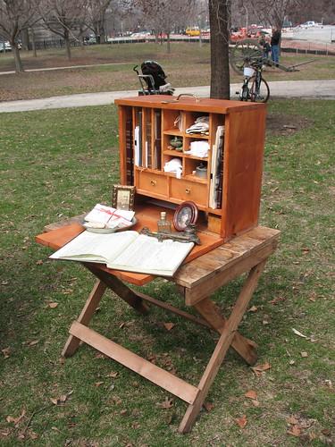 Field desk | Joan | Flickr