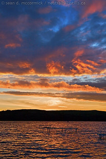 Capt Ayre Lake 2007: Sunset, Aug 4, 2007 [4 of 5] | by McCormick Photography