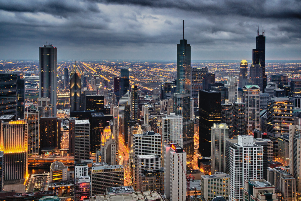 Chicagoland South The Southerly View Of Chicago From The J Flickr
