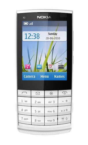nokia x3 touch and type blanc clavier nokia x3 touch and. Black Bedroom Furniture Sets. Home Design Ideas
