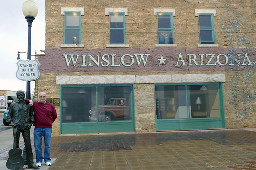 standing on the corner in winslow arizona standing on the flickr. Black Bedroom Furniture Sets. Home Design Ideas