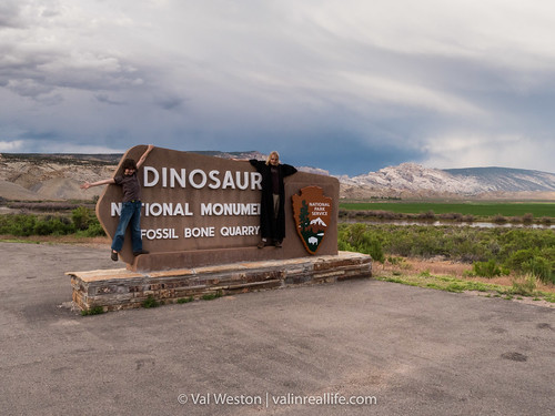 Dinosaur National Monument - Val in Real Life
