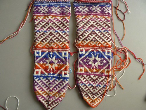 kilim socks wip1 | by 100% pura lana