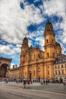 Theatine Church in Munich | by Miroslav Petrasko (hdrshooter.com)