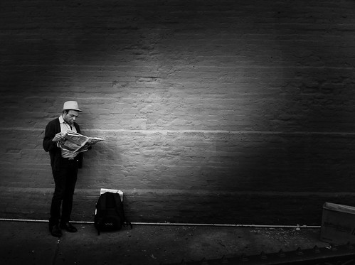 """The Lonely Reader"" 