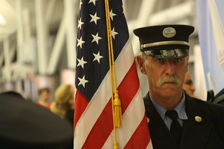 Color Guard Salutes Wounded US War Veterans- JFK Airport, NYC | by ChrisGoldNY