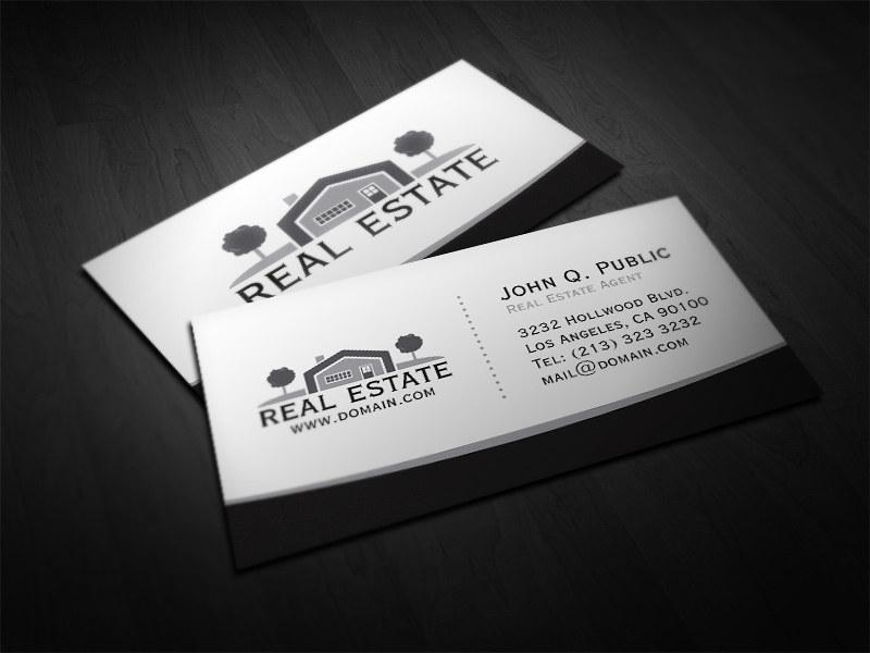 Elegant Real Estate Business Card | Business card for real e… | Flickr
