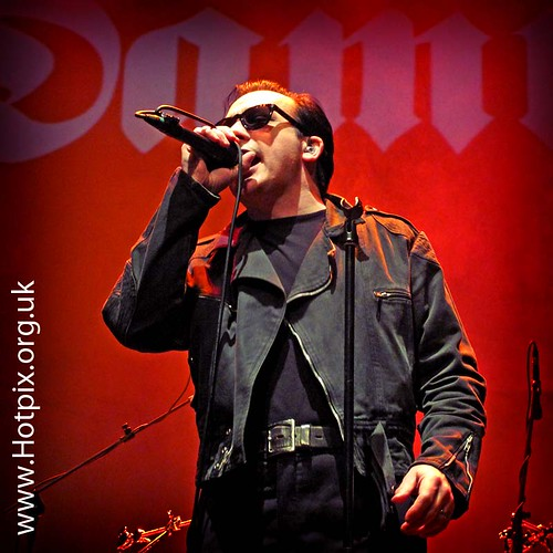 Dave Vanian of The Damned, Warrington Parr Hall, Cheshire UK 05-05-2012 - 35th Year Tour | by @HotpixUK -Add Me On Ipernity 500px