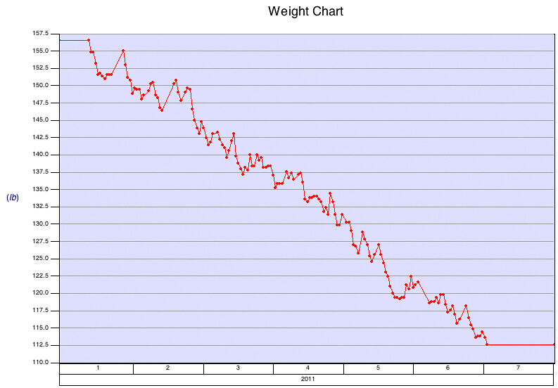 Weight Loss Chart: Weight Loss | I officially began the paleo diet on January 1u2026 | Flickr,Chart
