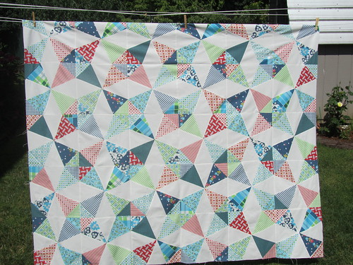 Kaleidoscope quilt top | by guiltyquilter
