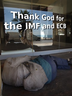 Thank God for the IMF and ECB | by Teacher Dude's BBQ