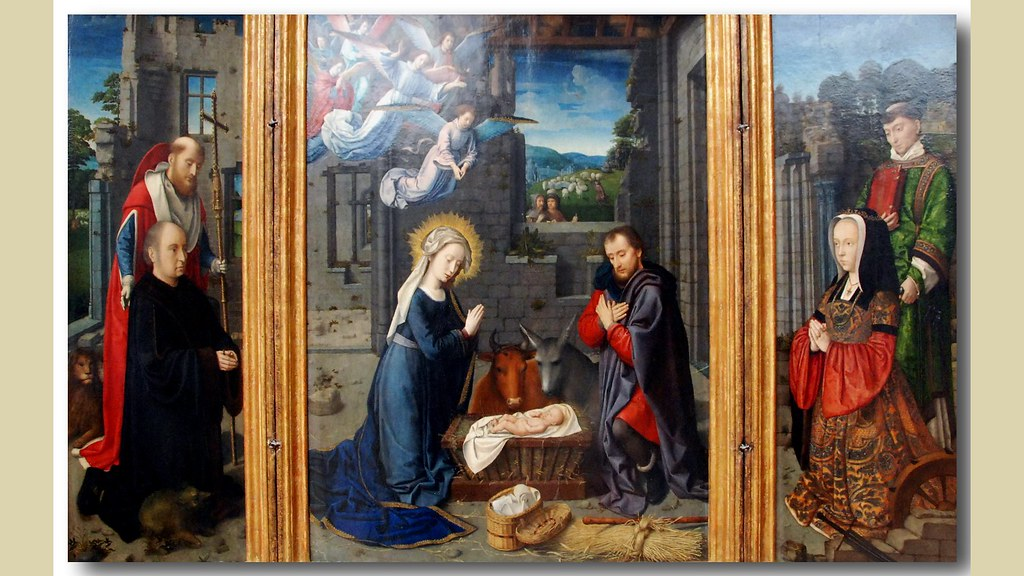 A tryptych of Gerard David, nowadays divided between New Y…   Flickr