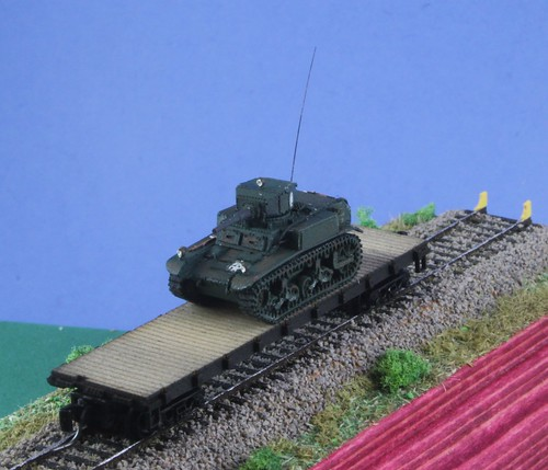 M3 Stuart Scale 1:220 (Z-Scale) | by animek