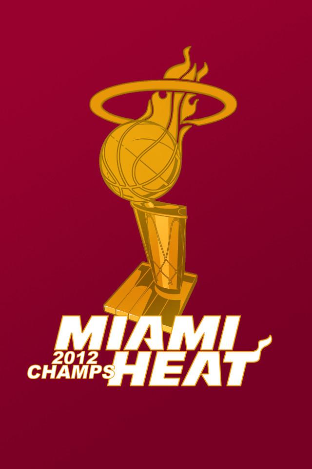 RyanHurstDesigns Miami Heat Champions IPhone Wallpaper