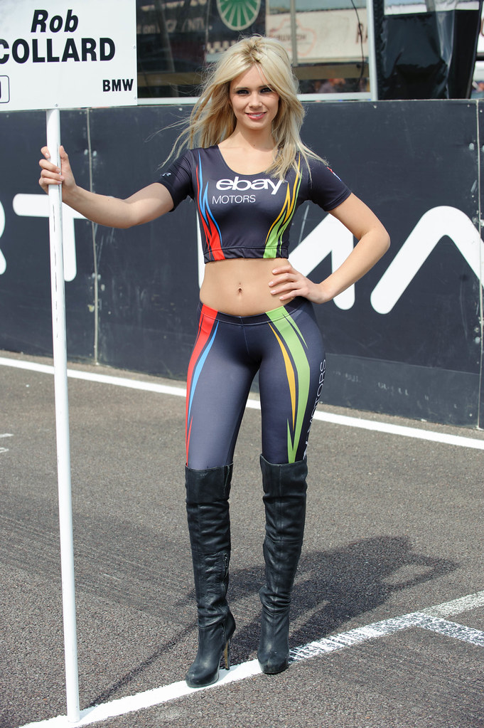 eBay motors grid girl, Louisa Marie. | Dennis Goodwin | Flickr
