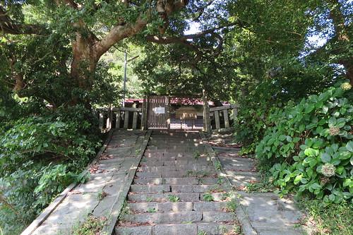 鎌倉市津1の龍口明神社旧地