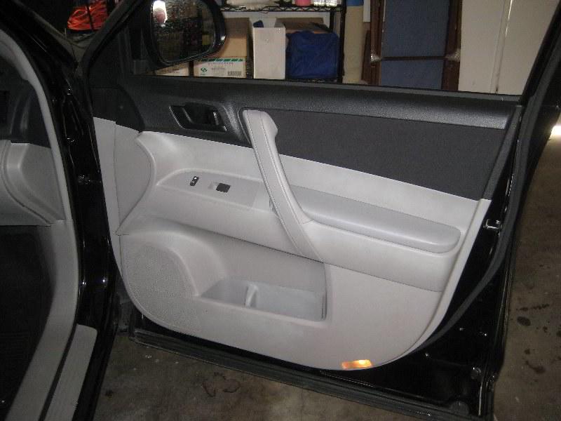 2013 Toyota Highlander Suv Interior Door Panel Take Of Flickr