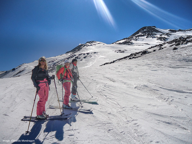 Springtime Backcountry Ski in the South Andes