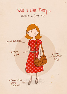 What I wore today... June 16 2011 | by Marloes de Vries
