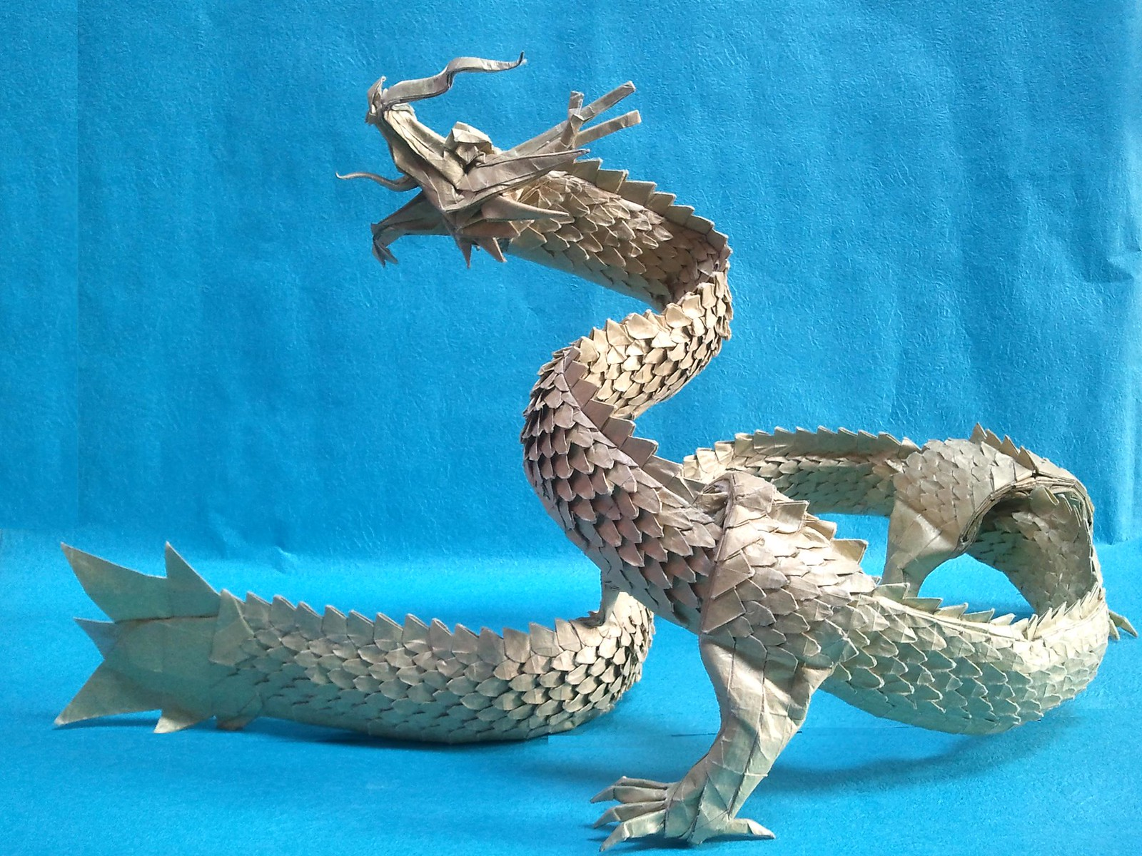 Satoshi Kamiya Ancient Dragon Instructions Origami Diagram By Cerberus Tessellations 10 Amazing Dragons For You To Enjoy